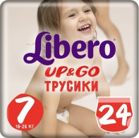 Libero Up and Go 7 16-26 кг 24 шт - Сosmoburg