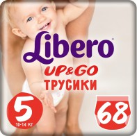 Libero Up and Go 5 10-14 кг 68 шт - Сosmoburg