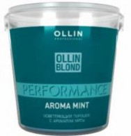Ollin Blond Performance Aroma Mint 30 гр - Сosmoburg